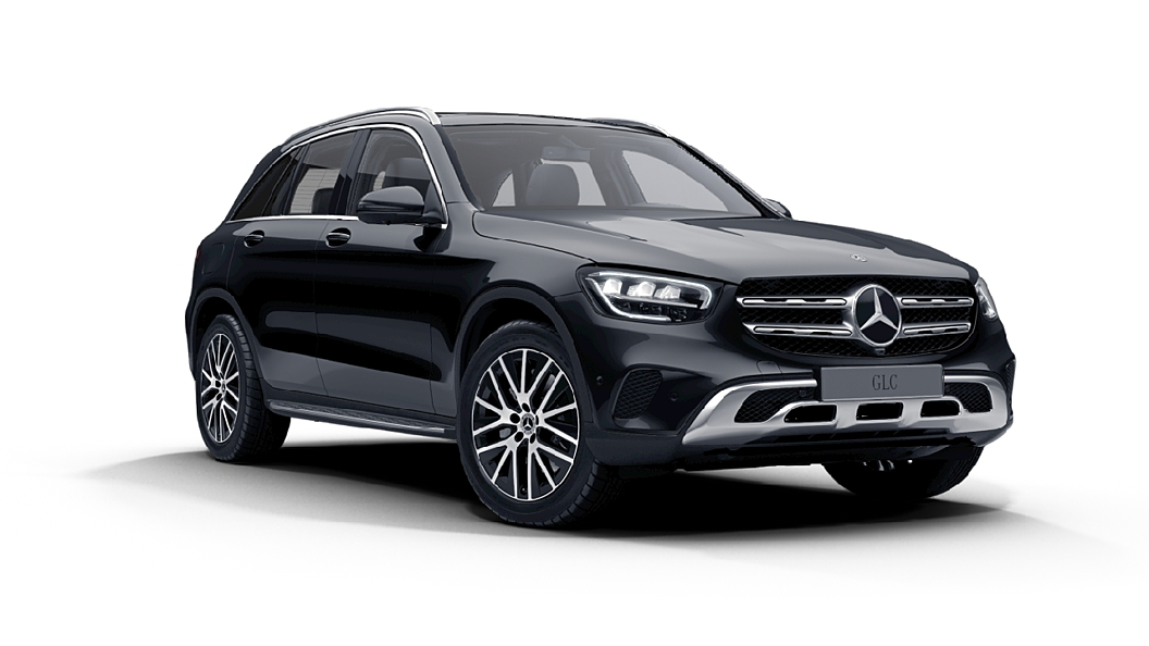 Mercedes Benz  GLC Obsidian Black Colour