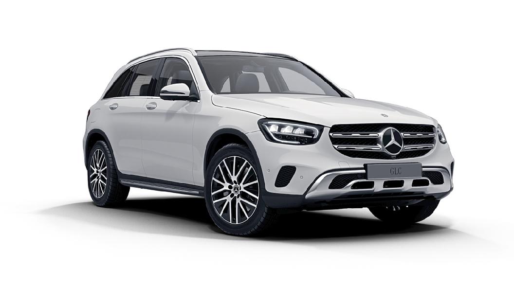 Mercedes Benz  GLC Polar White Colour