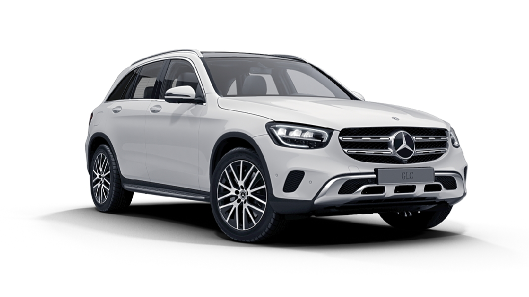 Mercedes Benz  GLC Polar White Colour