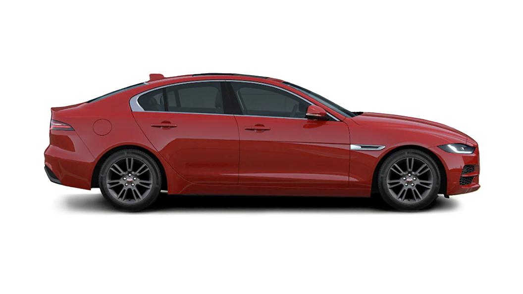 Jaguar  XE Caldera Red Colour