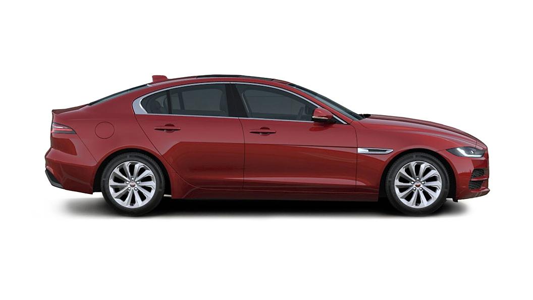 Jaguar  XE Firenze Red Metallic Colour