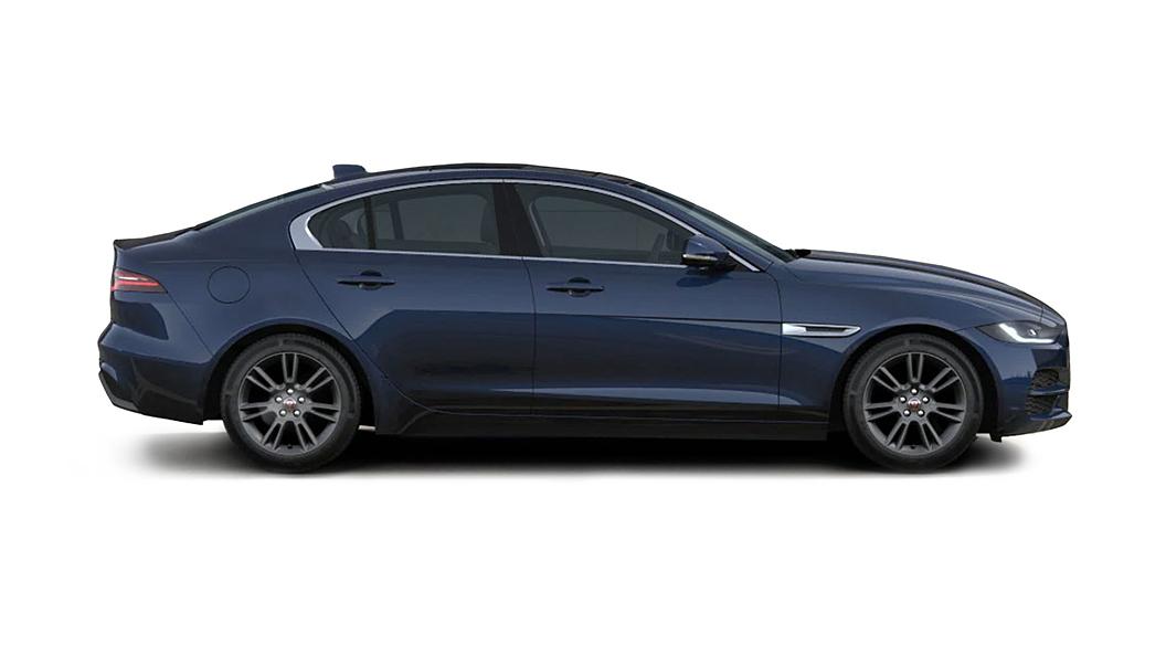 Jaguar  XE Portofino Blue Metallic Colour