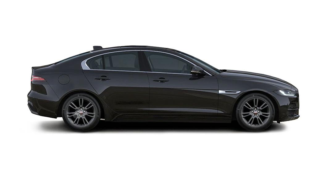 Jaguar  XE Santorini Black Metallic Colour