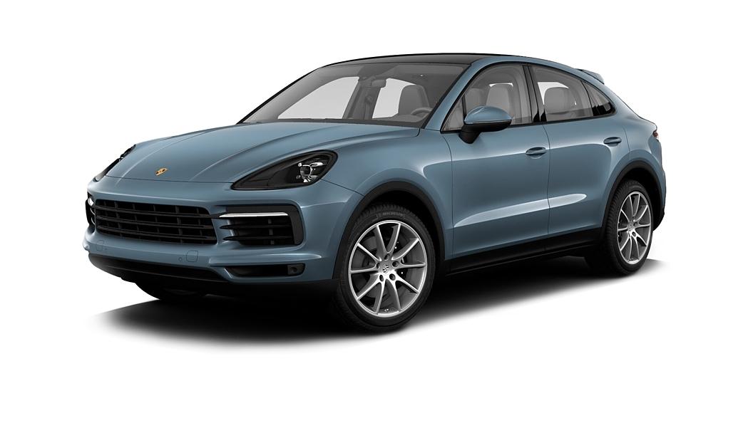 Porsche  Cayenne Coupe Biskay Blue Metallic Colour