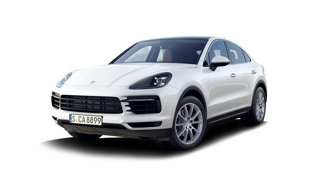 Porsche  Cayenne Coupe Carrara White Metallic Colour