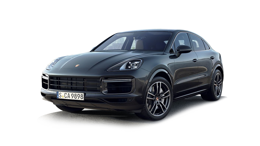 Porsche  Cayenne Coupe Jet Black Metallic Colour
