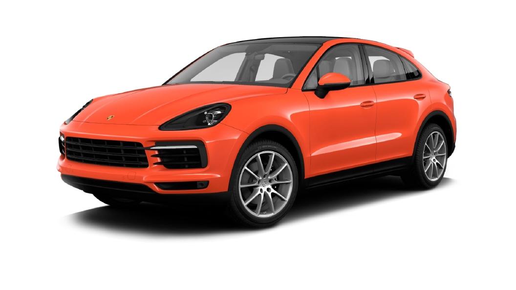 Porsche  Cayenne Coupe Lava Orange Colour