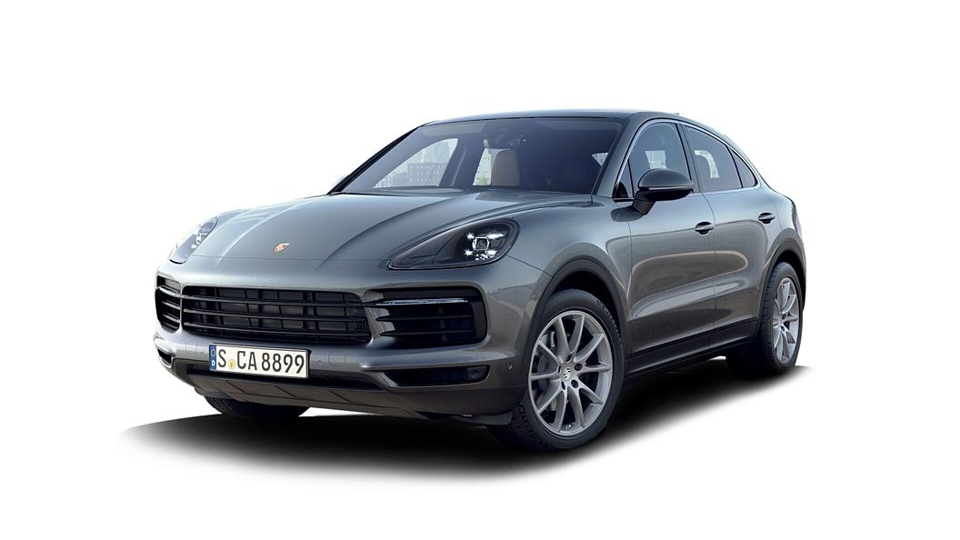 Porsche  Cayenne Coupe Quarzite Grey Metallic Colour