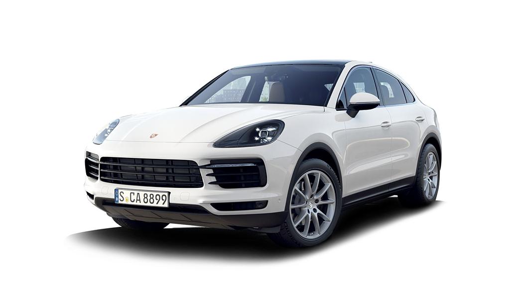 Porsche  Cayenne Coupe White Colour