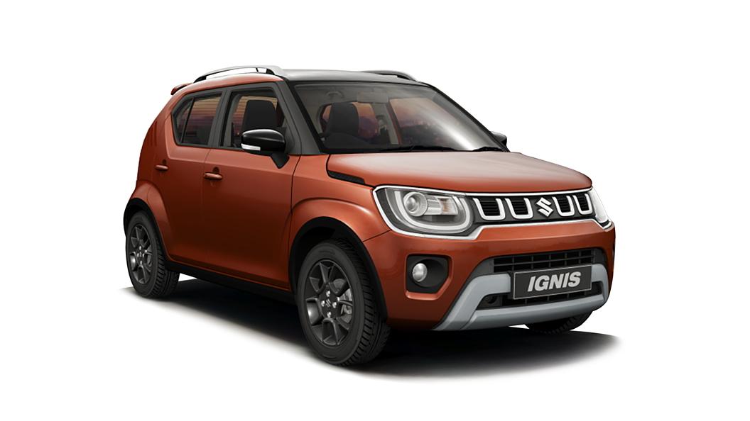 Maruti Suzuki  Ignis Lucent Orange with Black Roof Colour