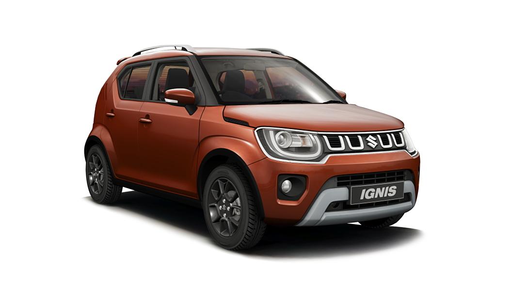 Maruti Suzuki  Ignis Lucent Orange Colour