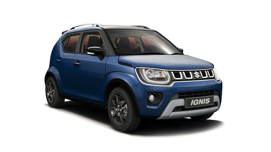 Maruti Suzuki  Ignis Nexa Blue with Black Roof Colour