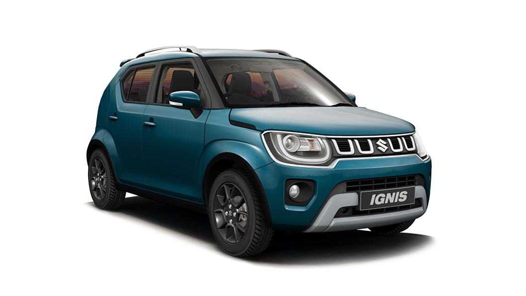Maruti Suzuki  Ignis Turquoise Blue Colour