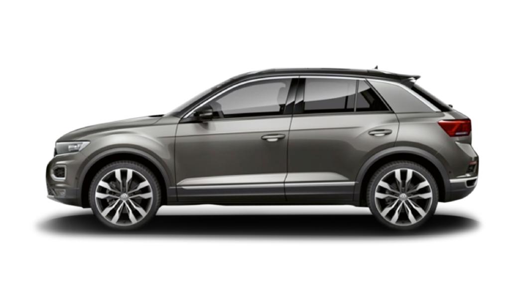 Volkswagen  T-Roc Indium Grey Colour