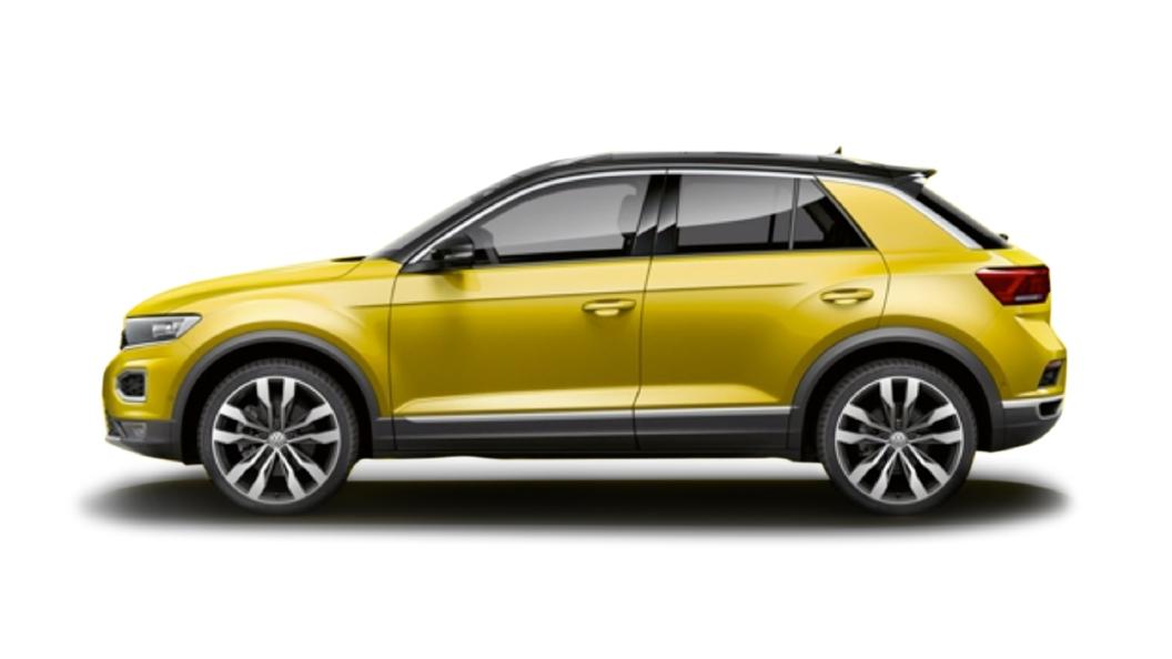 Volkswagen  T-Roc Kurkuma Yellow  Colour