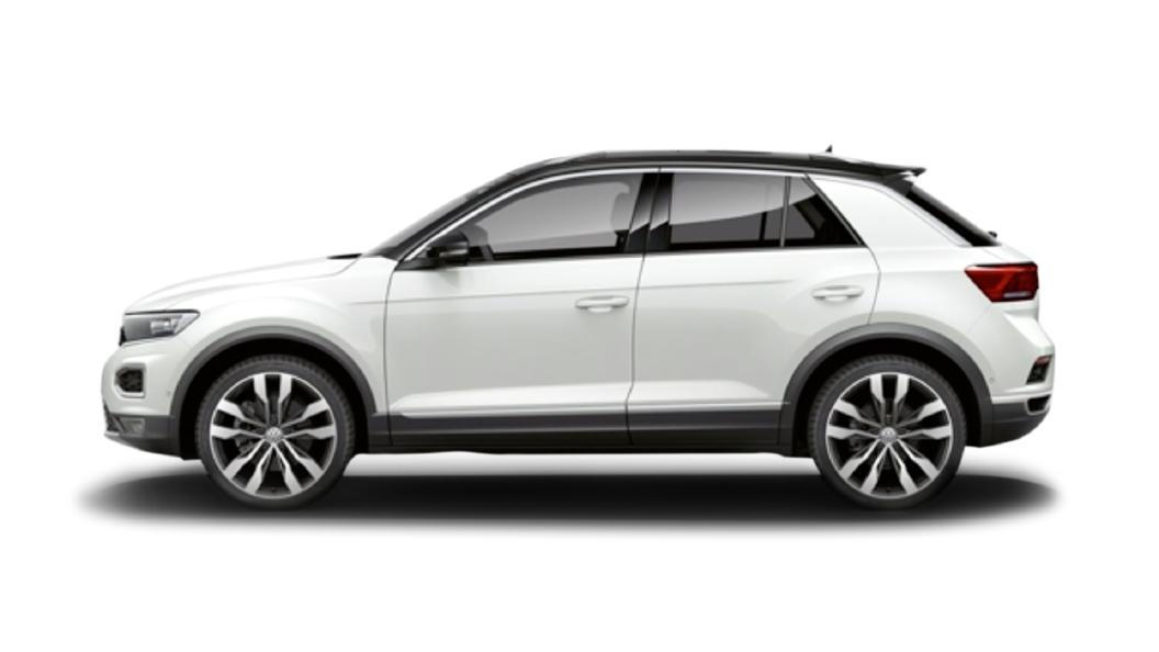 Volkswagen  T-Roc Pure White Colour