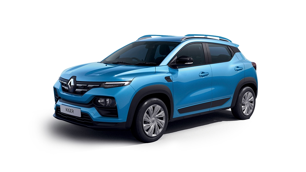 Renault  Kiger Caspian Blue Colour