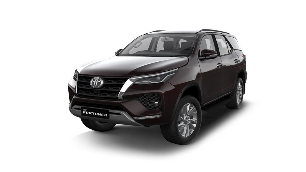Toyota  Fortuner Phantom Brown Colour