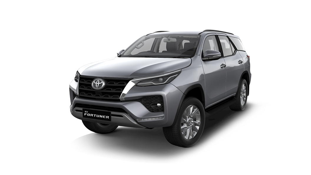 Toyota  Fortuner Silver Metallic Colour