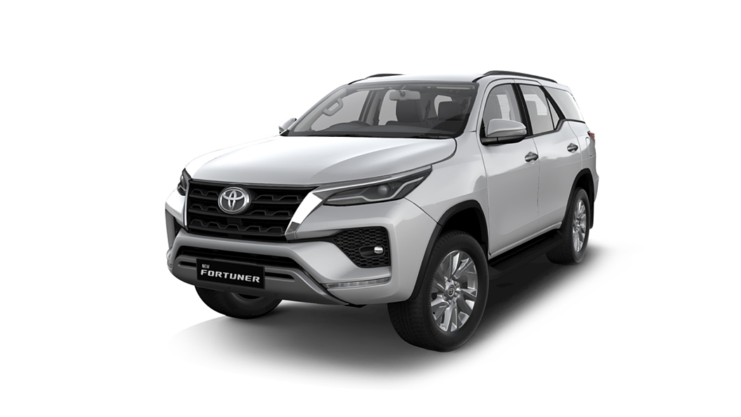 Toyota  Fortuner Super White Colour