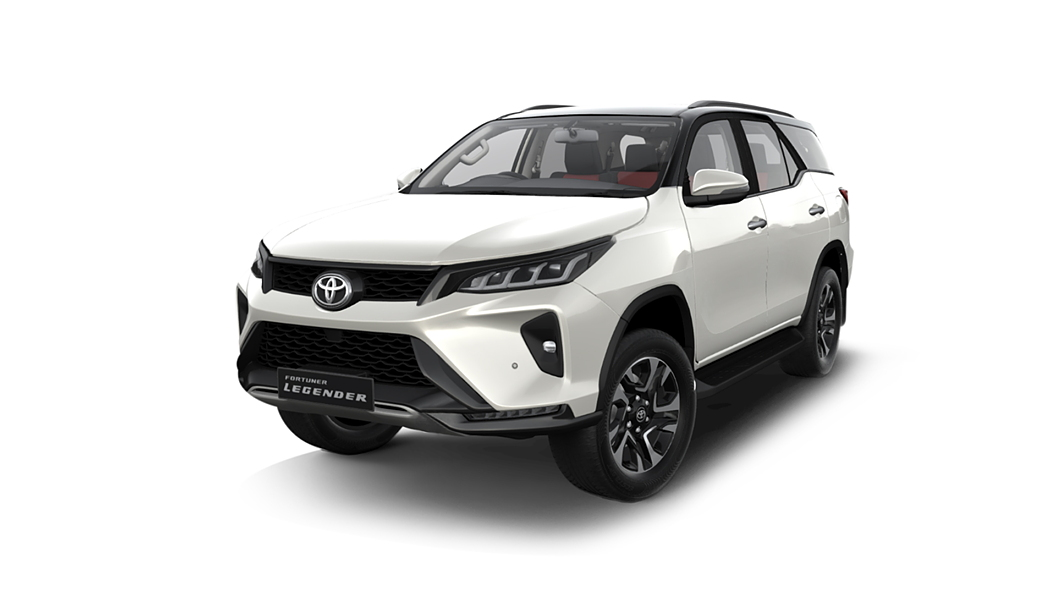 Toyota  Fortuner White Pearl Crystal Shine with Black Roof Colour