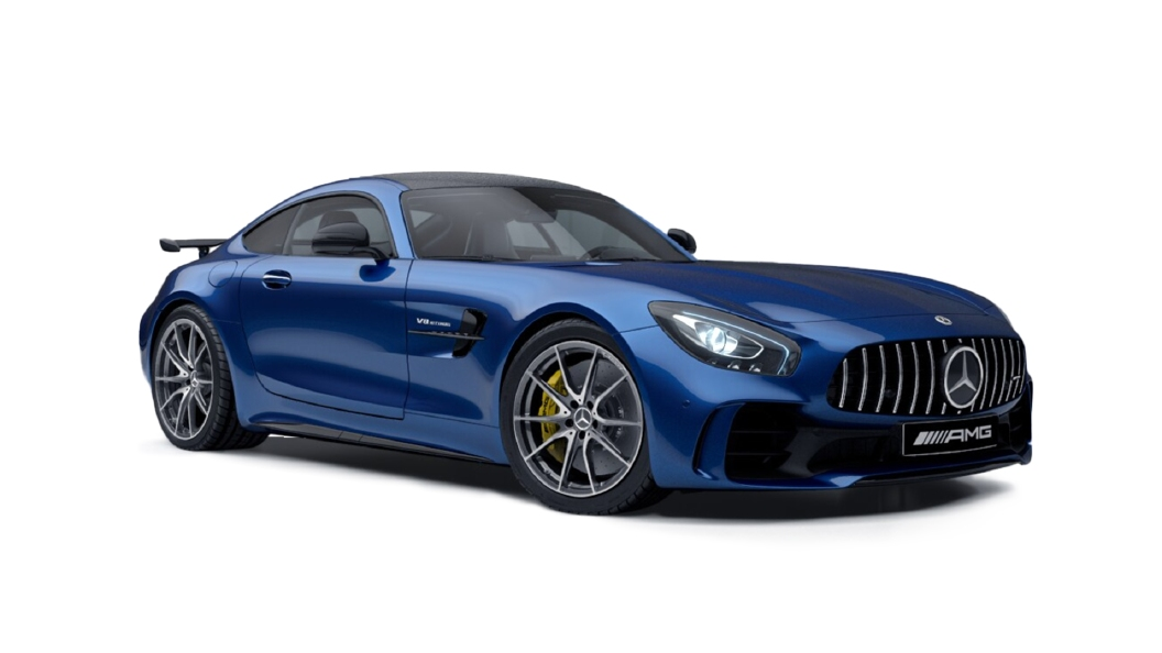 Mercedes Benz  EQC Brilliant Blue Colour
