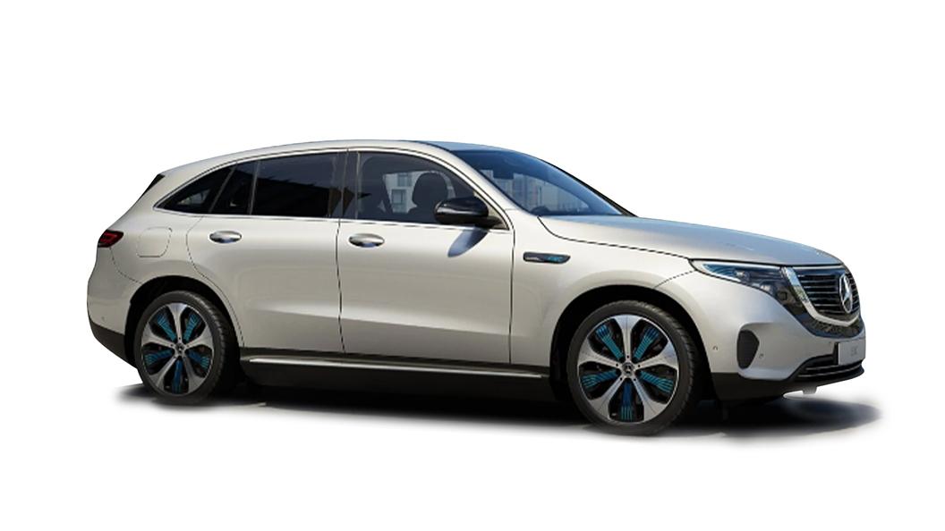 Mercedes Benz  EQC High-Tech Silver Colour