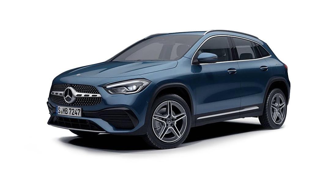 Mercedes Benz  GLA Denim Blue Metallic Colour