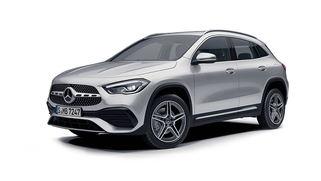 Mercedes Benz  GLA Iridium Silver Metallic Colour