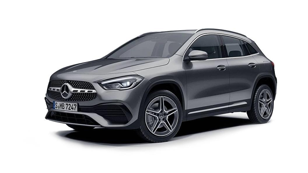 Mercedes Benz  GLA Mountain Grey Metallic Colour