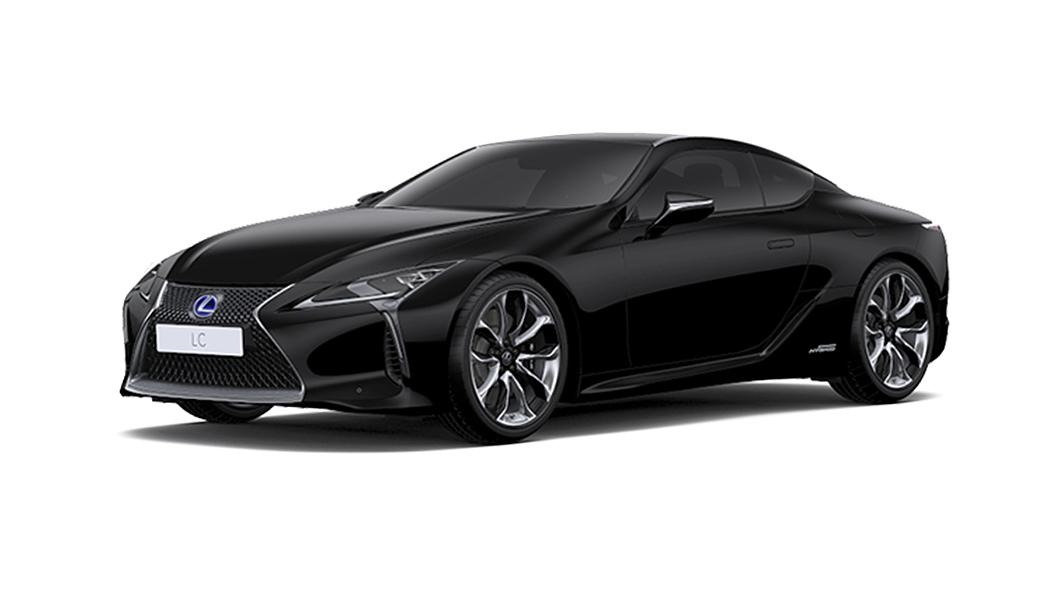 Lexus  LC 500h Black Colour