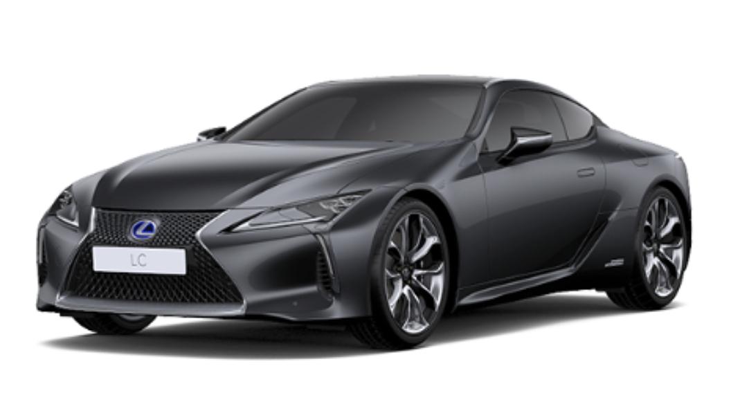 Lexus  LC 500h Dark Gray Mica Colour