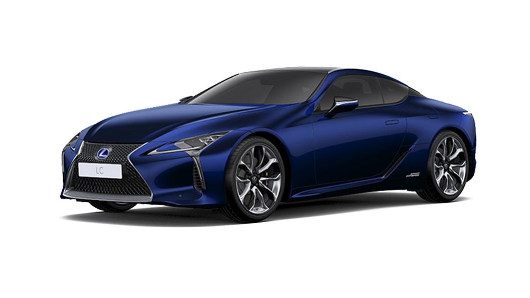Lexus  LC 500h Deep Blue Mica Colour