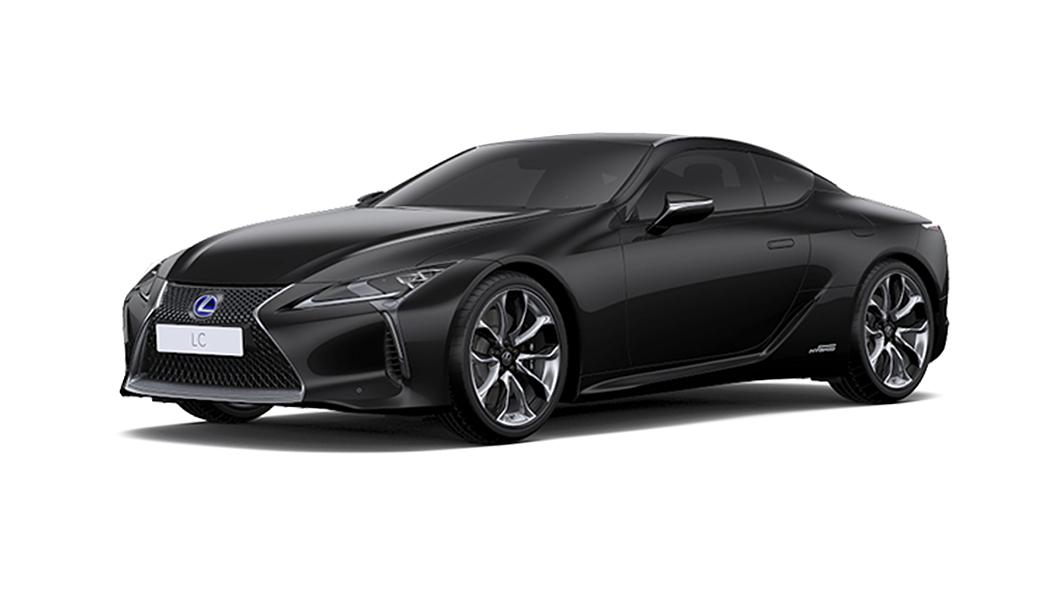 Lexus  LC 500h Graphite Black Glass Flake Colour