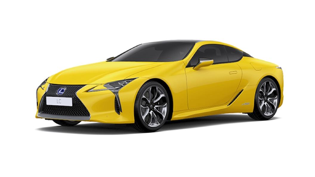 Lexus  LC 500h Naples Yellow Colour