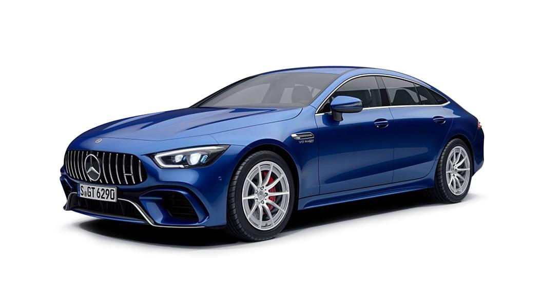 Mercedes Benz  AMG GT 4-Door Coupe Brilliant Blue Colour