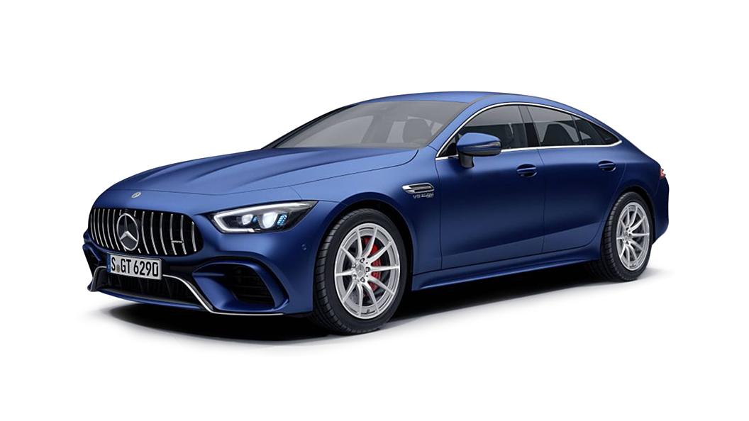 Mercedes Benz  AMG GT 4-Door Coupe Designo Brilliant Blue Magno Colour