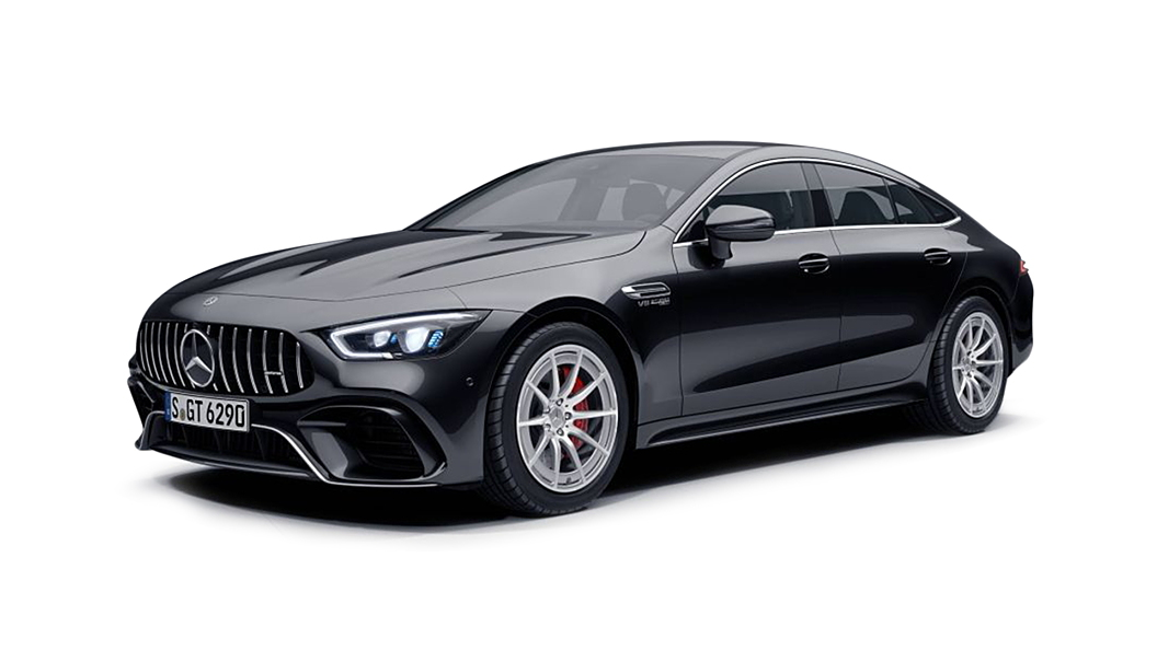 Mercedes Benz  AMG GT 4-Door Coupe Obsidian Black Colour