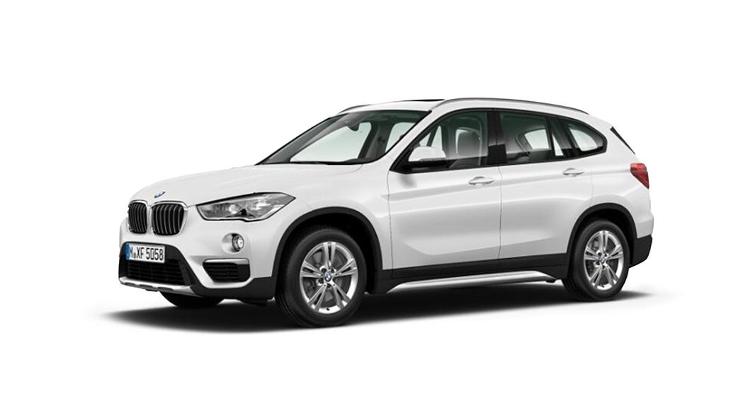 BMW  X1 Alpine White  Colour