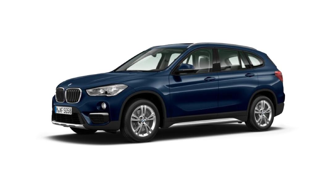 BMW  X1 Mediterranean Blue (Metallic) Colour