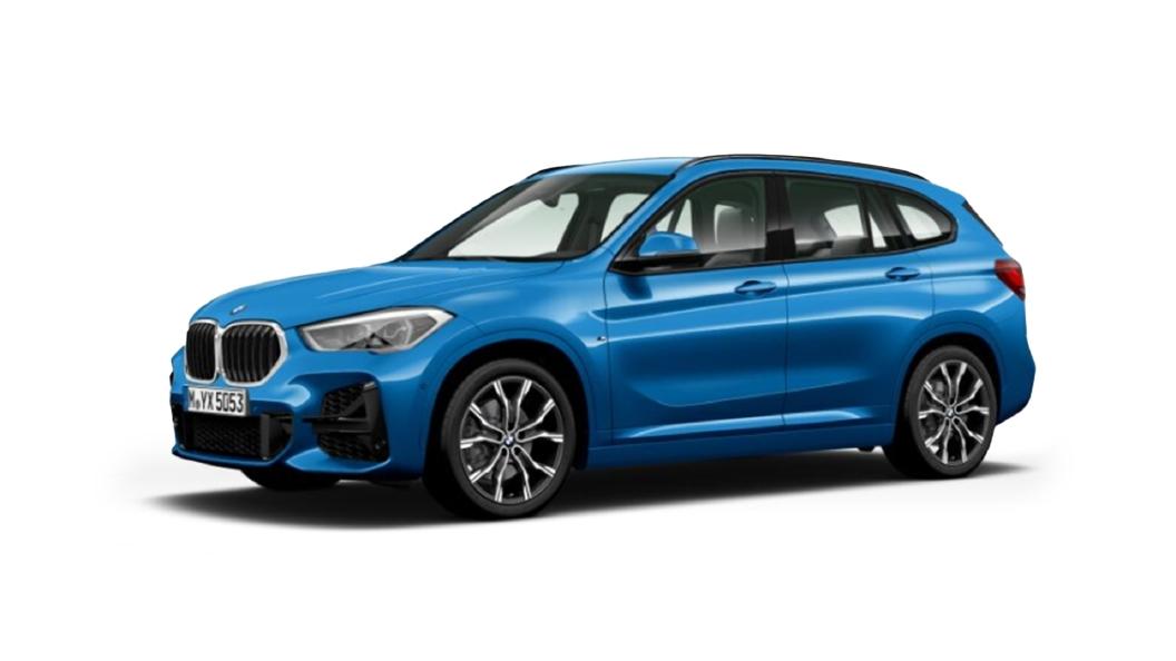 BMW  X1 Misano Blue (Metallic) Colour