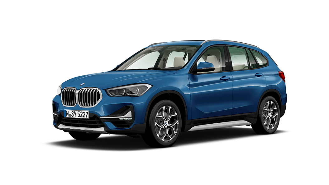 BMW  X1 Phytonic Blue Metallic Colour