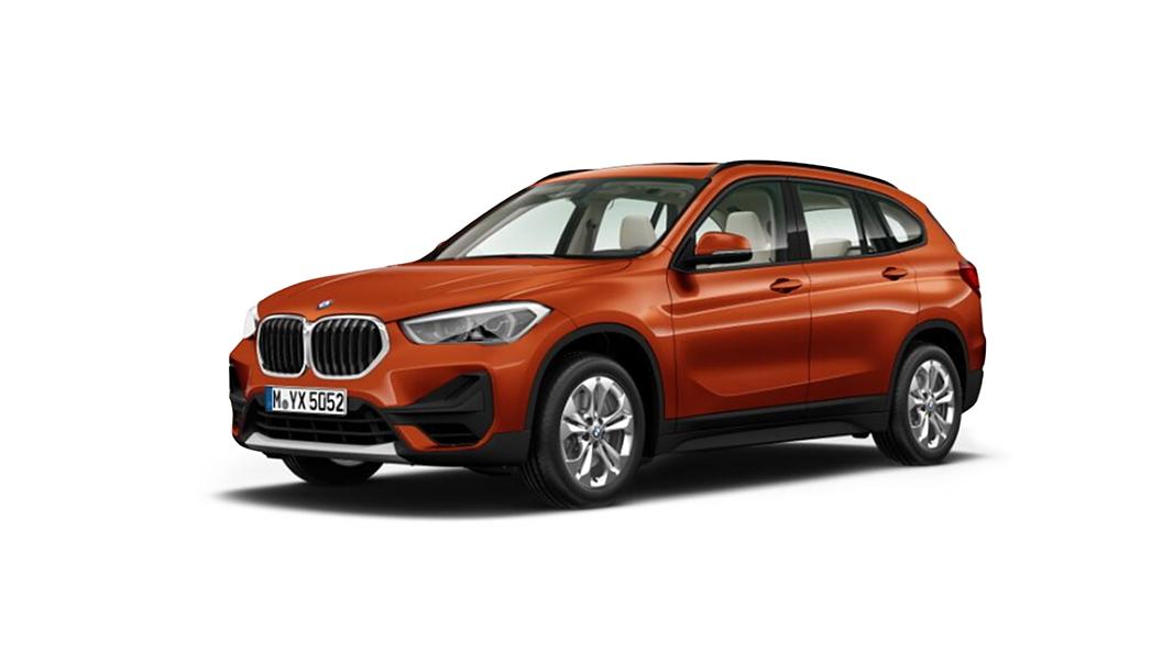 BMW  X1 Sunset Orange (Metallic) Colour