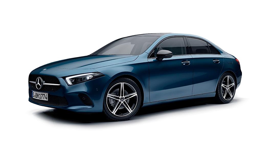Mercedes Benz  A-Class Limousine Denim Blue Colour