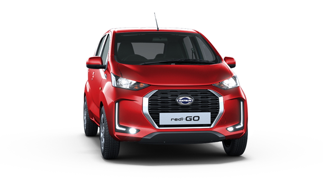 Datsun  Redi-GO Ruby Red Colour