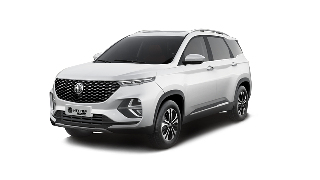 MG  Hector Plus Candy White Colour
