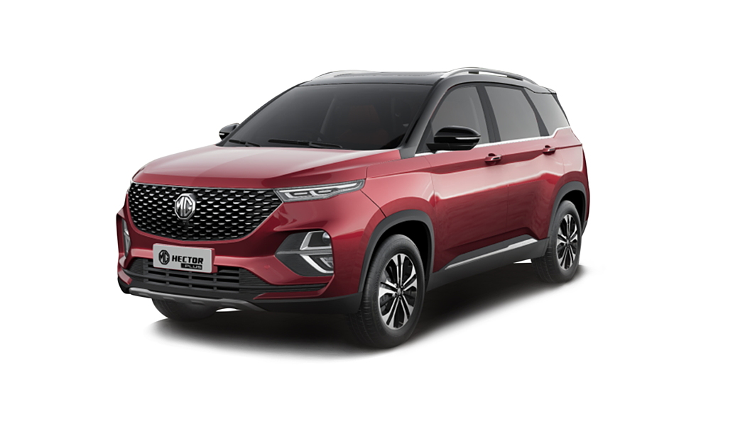 MG  Hector Plus Glaze Red with Starry Black Colour