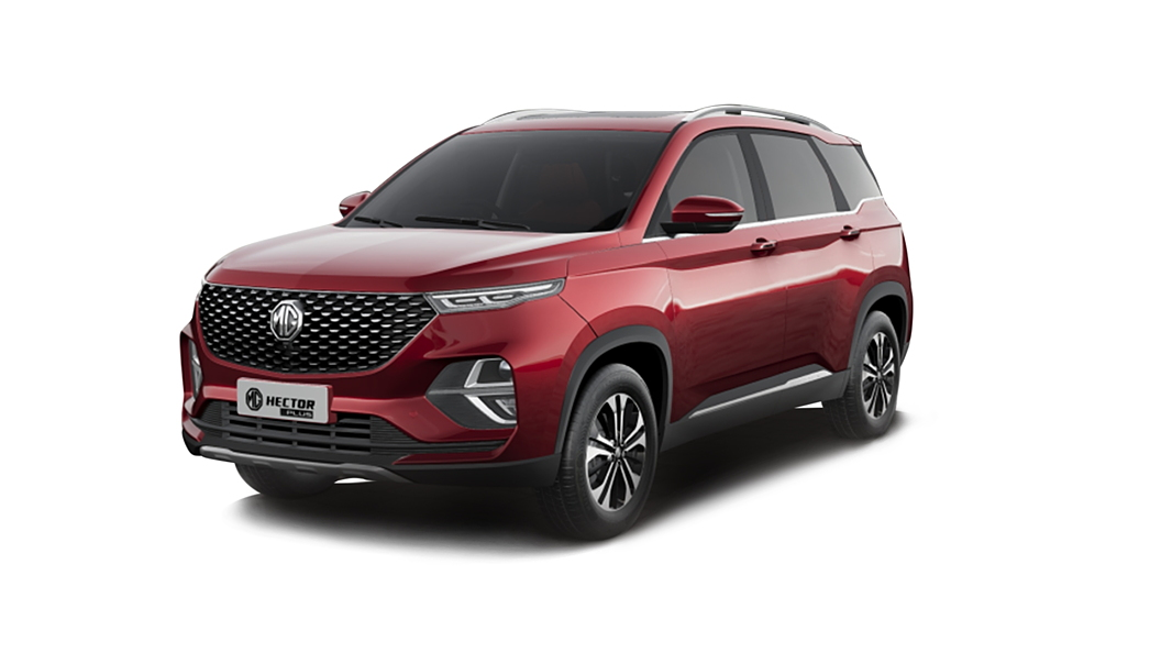 MG  Hector Plus Glaze Red Colour