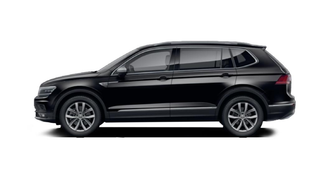 Volkswagen  Tiguan AllSpace Deep Black Pearl Colour