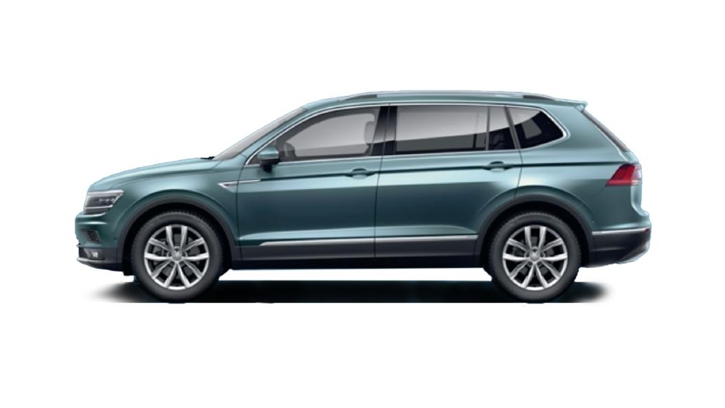 Volkswagen  Tiguan AllSpace Petroleum Blue Colour